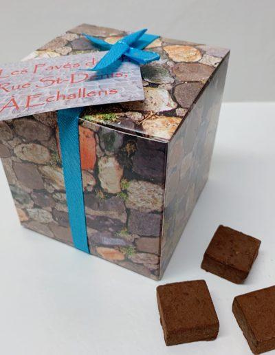 Boîte de « Pavés de 14, rue St-Denis à Echallens » 180g