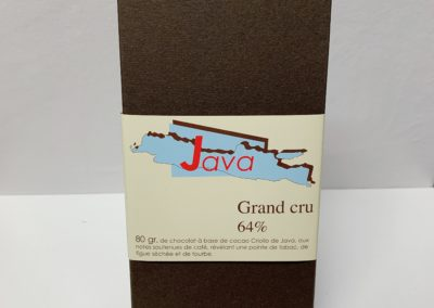 Plaque Grand cru Java 64%, 80g