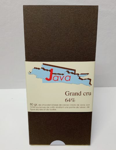 Plaque Grand cru Java 64%, 80g