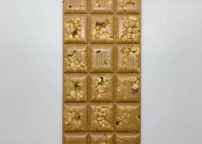 Plaque chocolat blond aux arachides 100g
