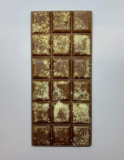 Plaque chocolat noir fleur de sel et caramel 100g