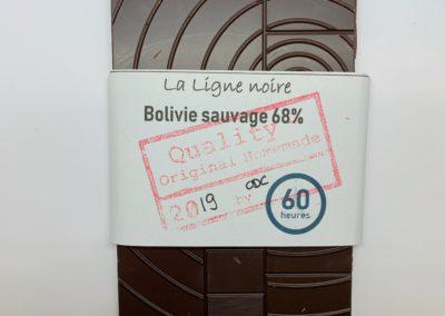 La Ligne noire, Bolivie sauvage 68% (60h), 50g