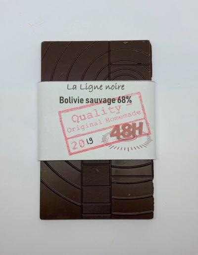 La Ligne noire, Bolivie sauvage 68% (48h), 50g
