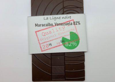 La Ligne noire, Maracaïbo, Venezuela 82%, 50g