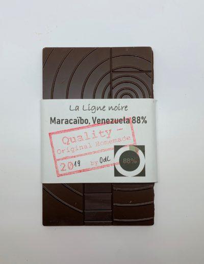 La Ligne noire, Maracaïbo, Venezuela 88%, 50g