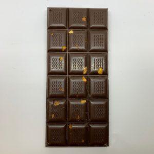 Plaque chocolat noir aux noisettes 100g