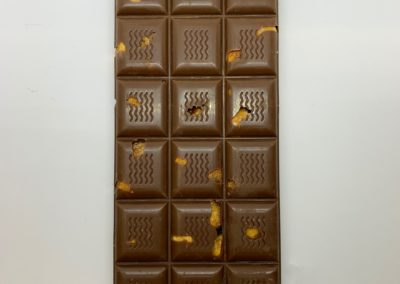 Plaque chocolat au lait aux noisettes 100g