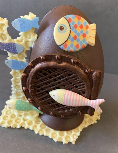 Sujet de Pâques en chocolat