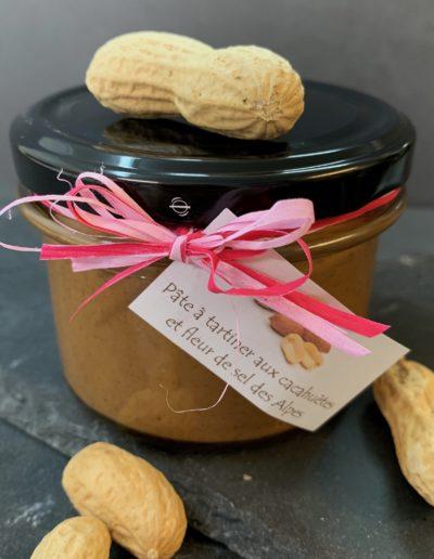 Pâte à tartiner aux cacahuètes et fleur de sel (200g)