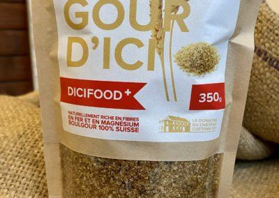 Boulgour (semoule de blé dur)
