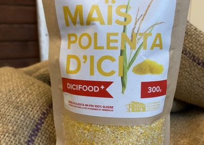 Semoule de maïs pour polenta