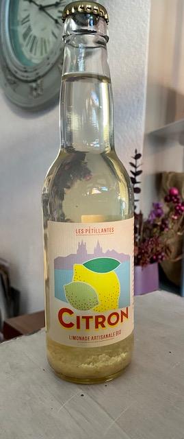 Limonade Bio citron 33cl  (uniquement avec retrait en magasin)