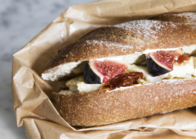Sandwich au fromage de chèvre (uniquement avec retrait en magasin)